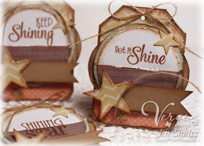 Shining Star Tags by Jen Shults