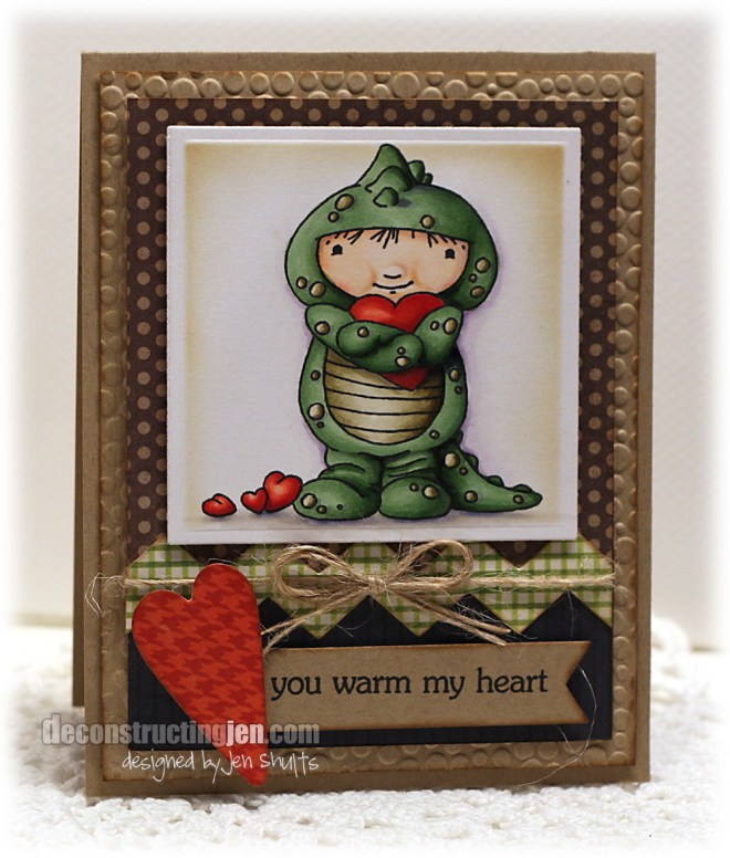 You Warm My Heart by Jen Shults (Stamps from My Favorite Things)