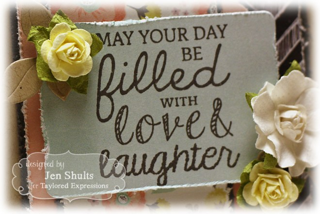 Love & Laughter, #sharejoy #tayloredexpressions #handmade #card