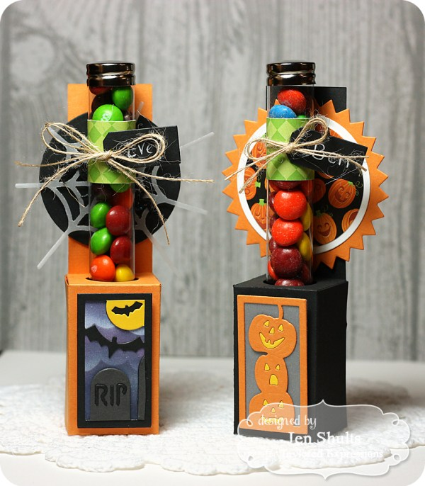 Halloween Treats by Jen Shults, dies and supplies from Taylored Expressions