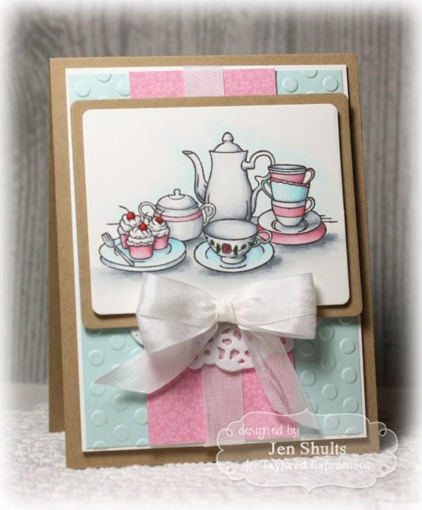 Tea Time by Jen Shults