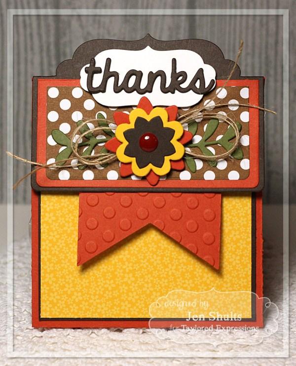 Thanks Treat Bag by Jen Shults