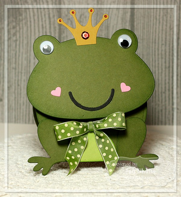 Frog Prince Card by Jen Shults