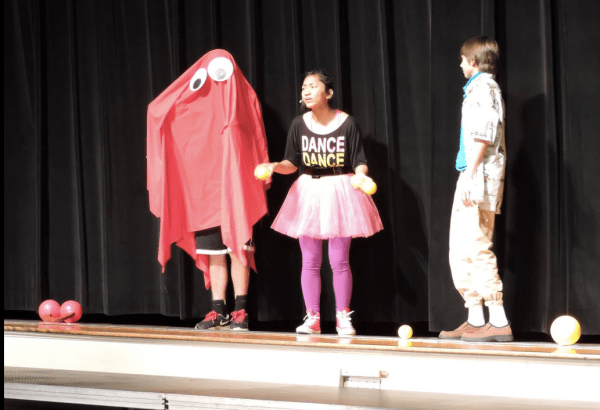 Blinky @ 2015 Awards Assembly