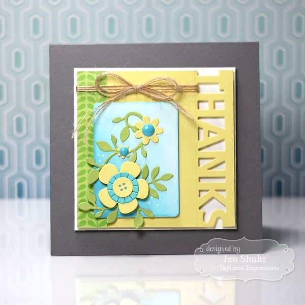 Thanks by Jen Shults for Share Joy Challenge 1 by Taylored Expressions