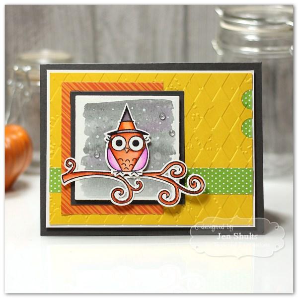 Happy Owl-o-ween by Jen Shults