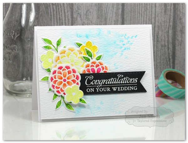 Congratulations by Jen Shults #handmade #handmadecard #tayloredexpressions