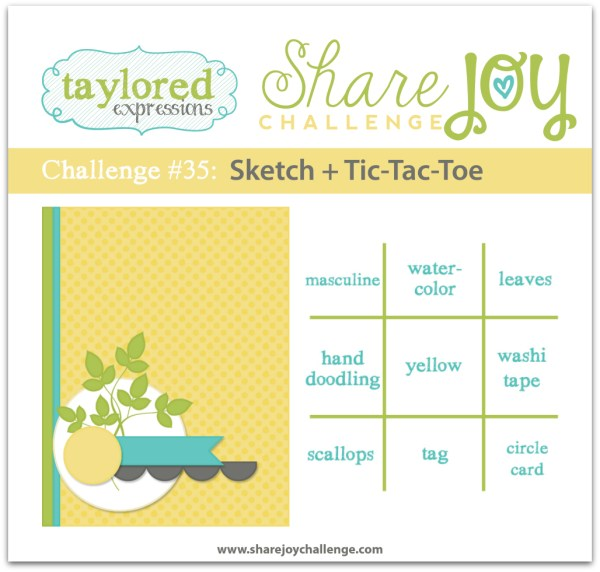 Share Joy Challenge 35 by Taylored Expressions