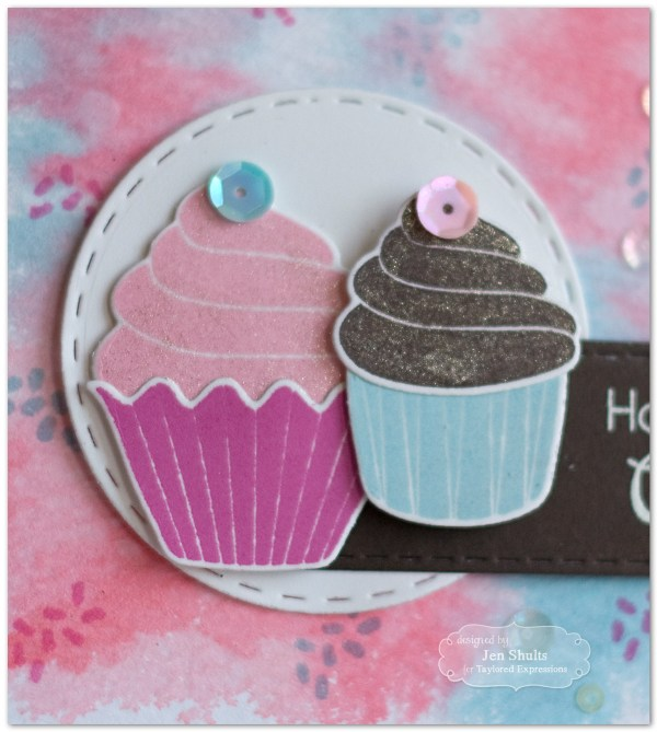 Happy Birthday Cupcake by Jen Shults