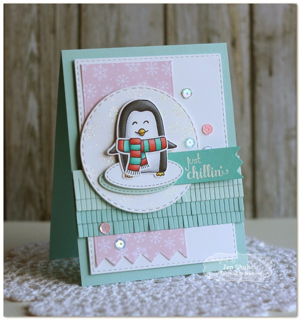 Just Chillin' by Jen Shults, handmade card
