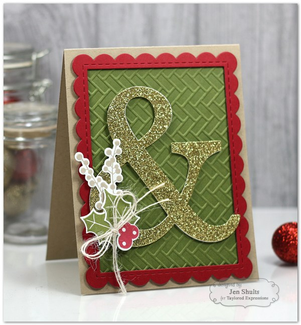 Ampersand Christmas by Jen Shults