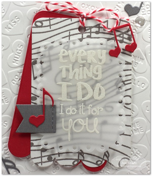 Everything I Do handmade valentine by Jen Shults