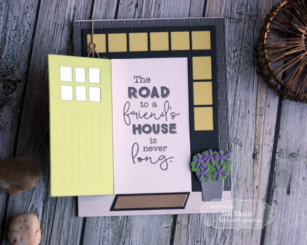 The Road to a Friends House by Jen Shults