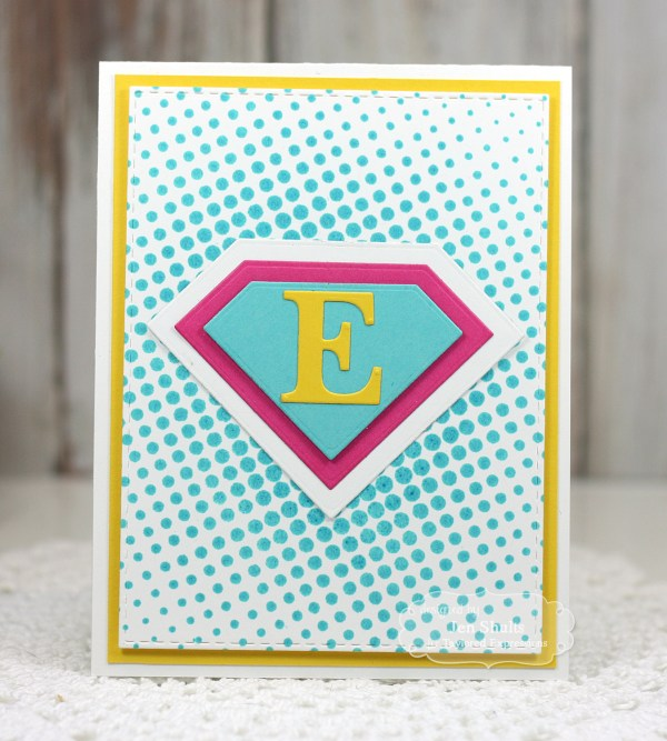 Super Monogram Thank You's by Jen Shults