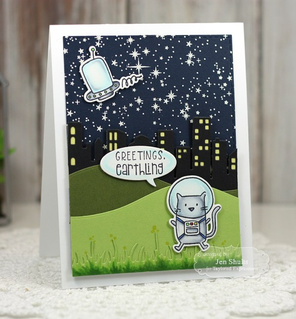 Greetings Earthling by Jen Shults