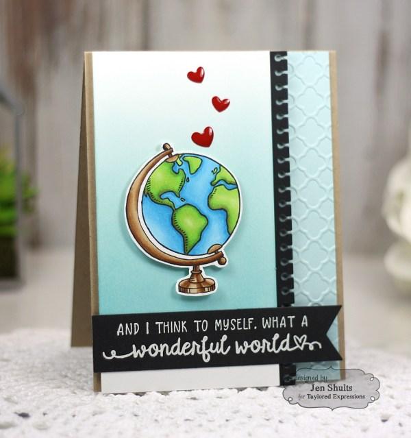 What a Wonderful World by Jen Shults