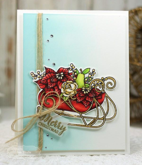 Sleigh Bouquet by Jen Shults