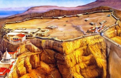 Masada ... The photo is taken from ... http://the100.ru/images/travel/id2036/fortress-masada-travel-4131.jpg