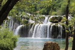 The Beauty of Water in Move-Waterfalls of National Park Krka ... Credit: Tomislav-Croatia ... Photo taken from ... https://pixabay.com/en/waterfalls-national-park-krka-1558971/