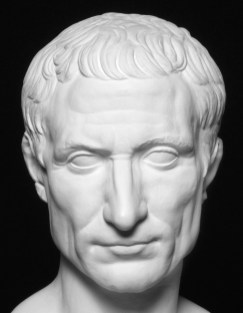 Julius Caesar. The photo via Pinterest is taken from ... http://viamus.uni-goettingen.de/vd/3287/mjt.jpg