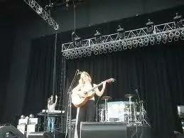 Julianna on stage
