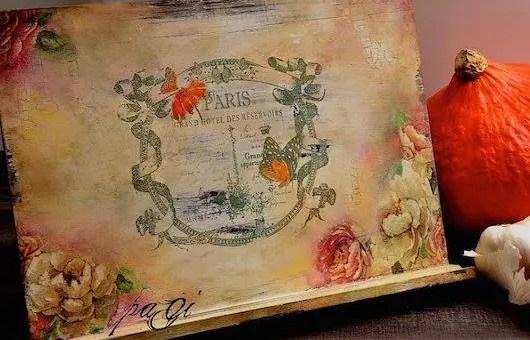 Arrosoirs de Provence, V. paGi transzfer és dekupázs hétvége Csomádon.