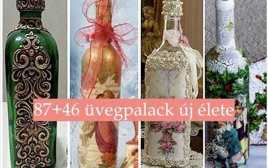 87+46 üvegpalack új élete