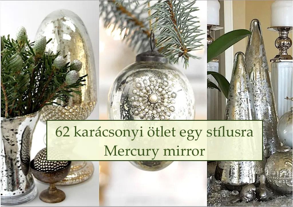 62 karácsonyi ötlet egy stílusra – Mercury mirror