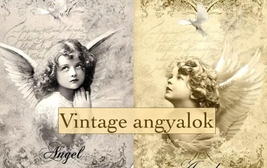 Vintage angyalok