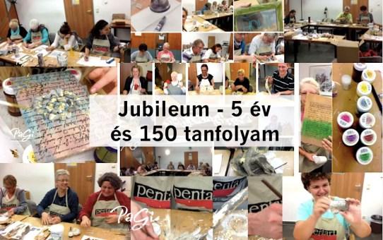 Jubileum - 5 év és 150 tanfolyam