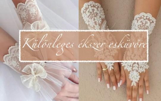 Különleges ékszer esküvőre