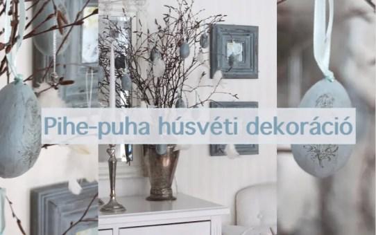 Pihe-puha húsvéti dekoráció