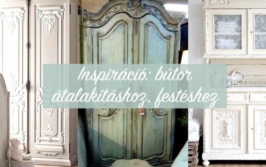 Inspiráció: bútor átalakításhoz, festéshez