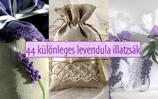 44 különleges levendula illatzsák