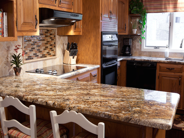 Betularie Granite Countertop Kitchen Design Ideas