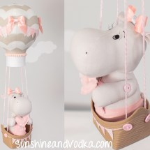 Hippo Baby Mobile