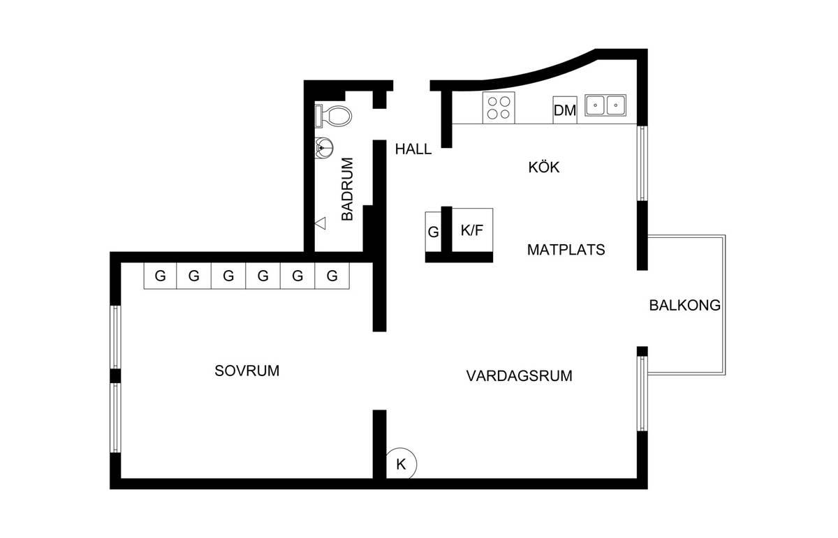 планировка квартиры 52 квм