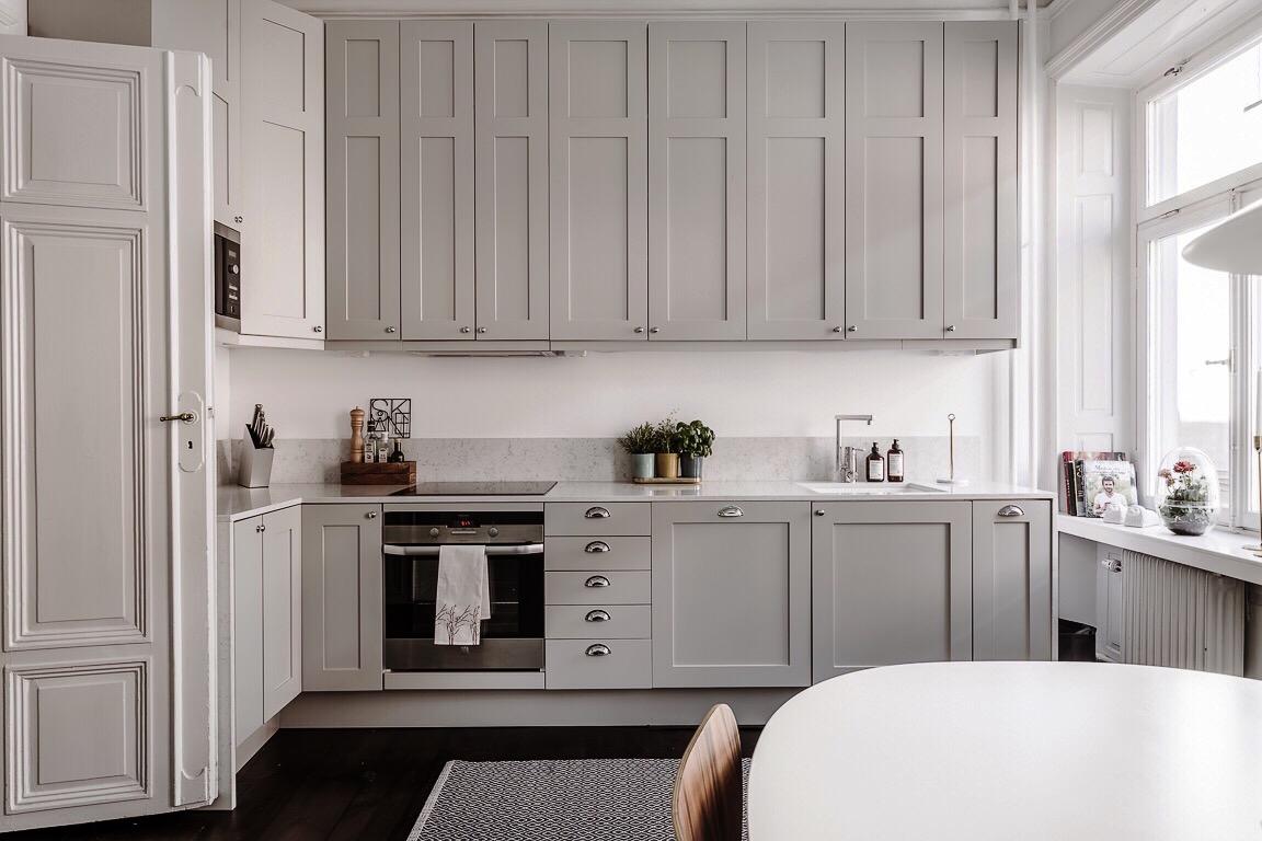 кухня встроенная вытяжка