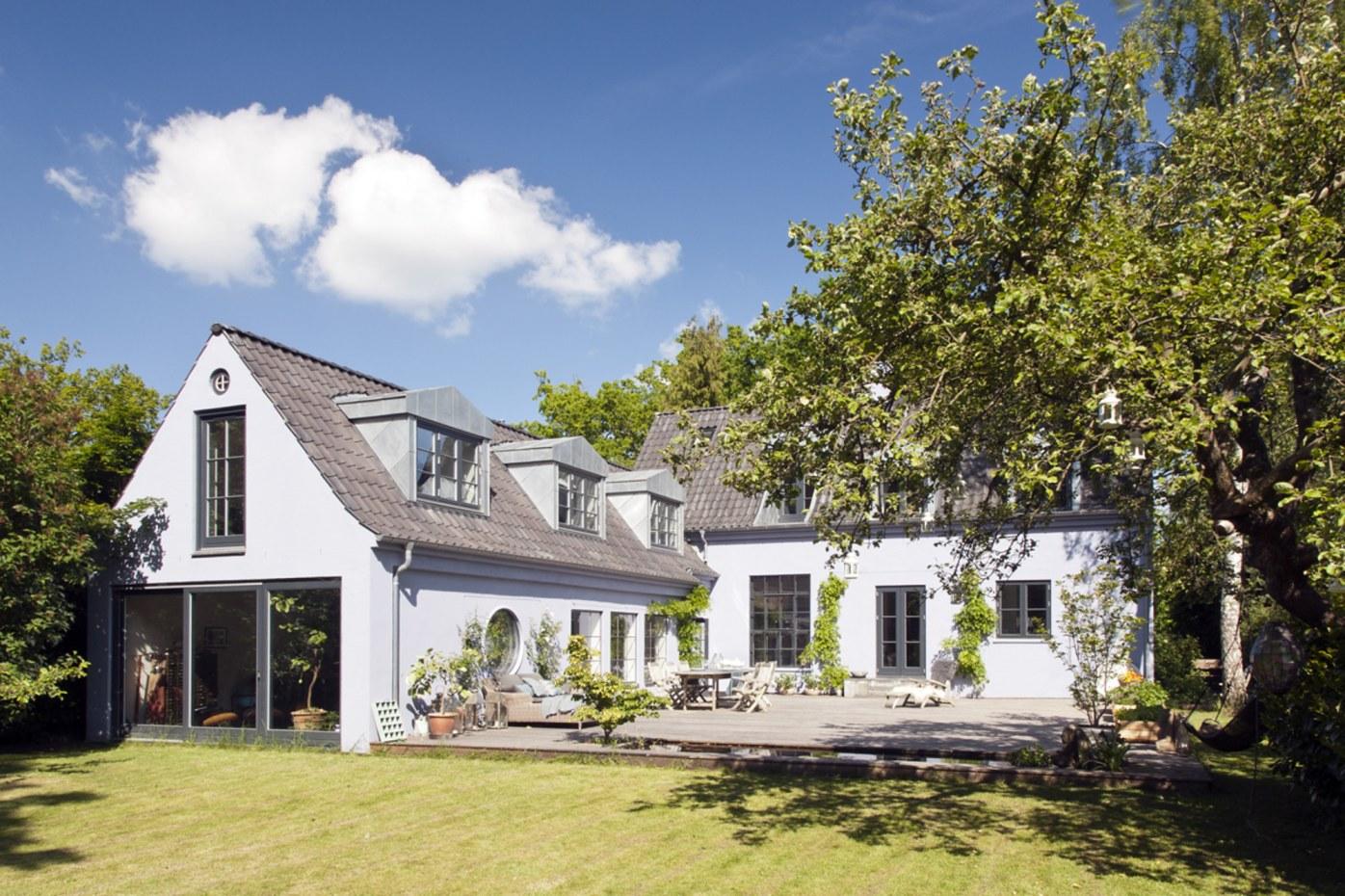 загородный дом терраса