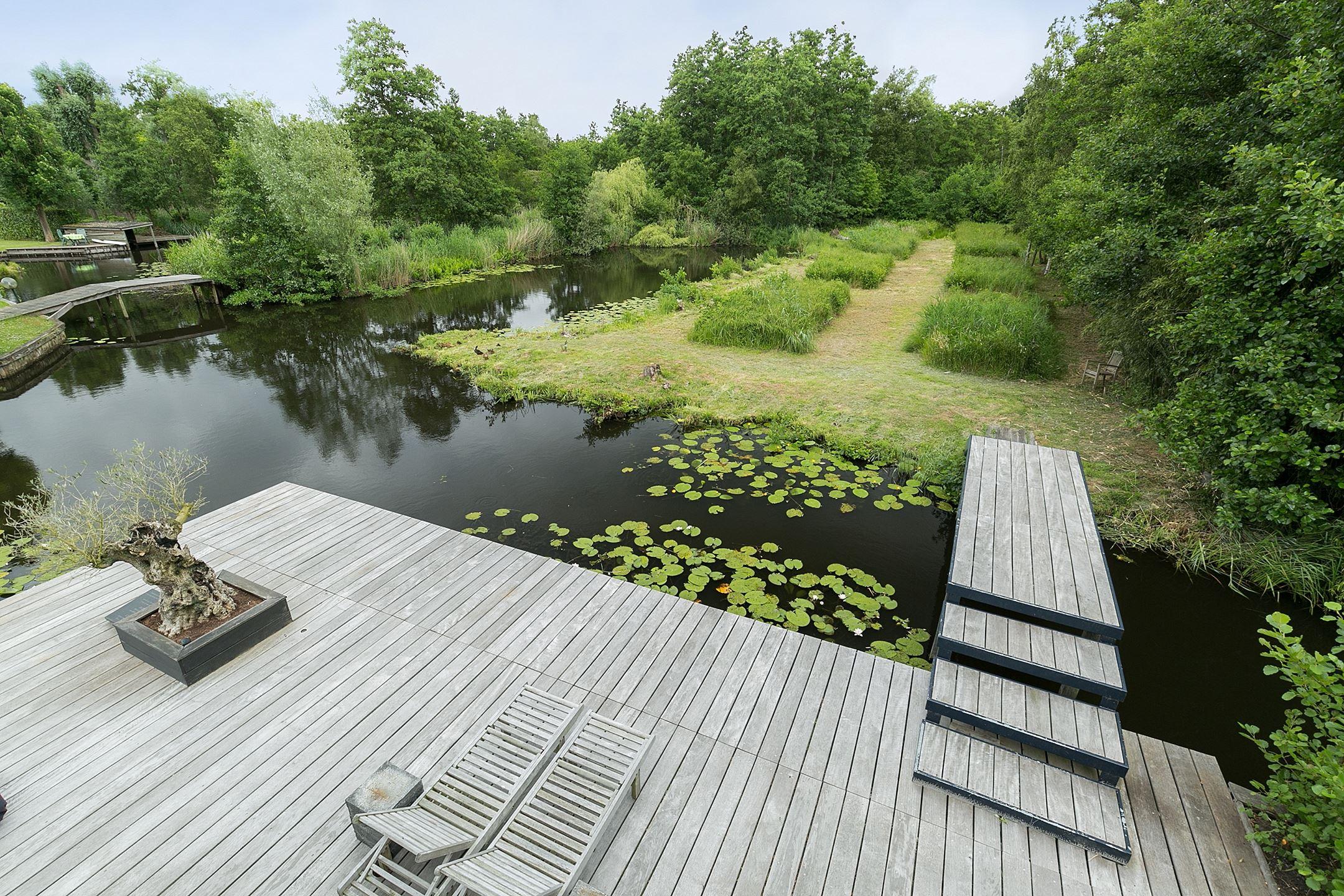 деревянная терраса мостик ступени