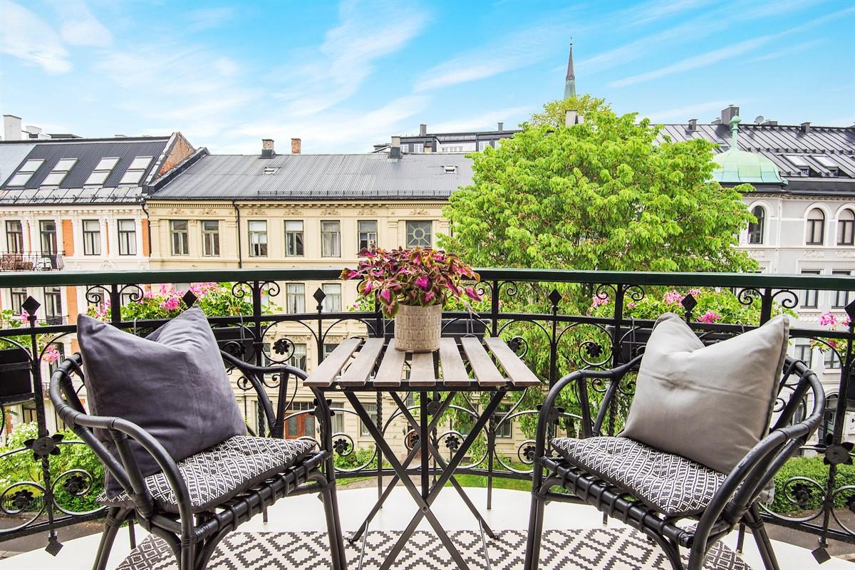 балкон уличная мебель