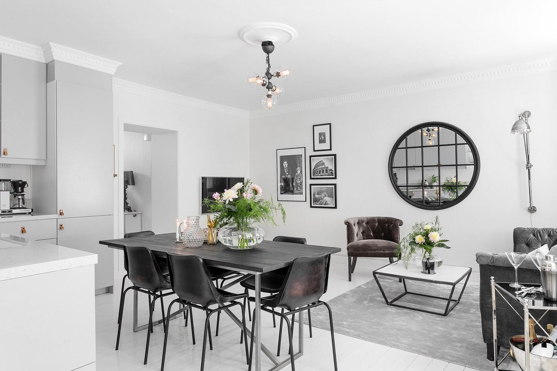 обеденный стол стулья кухня гостиная