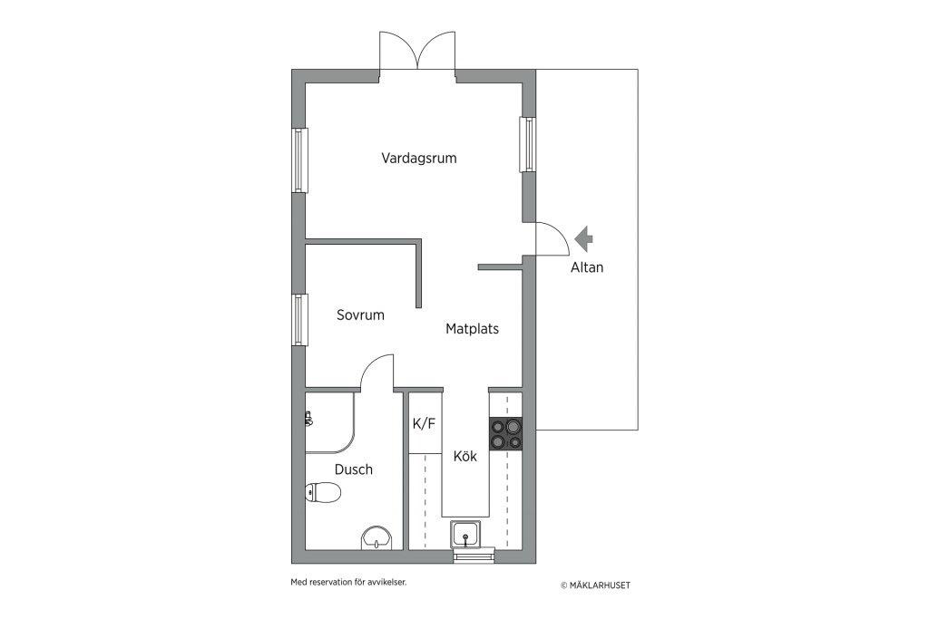 планировка домика