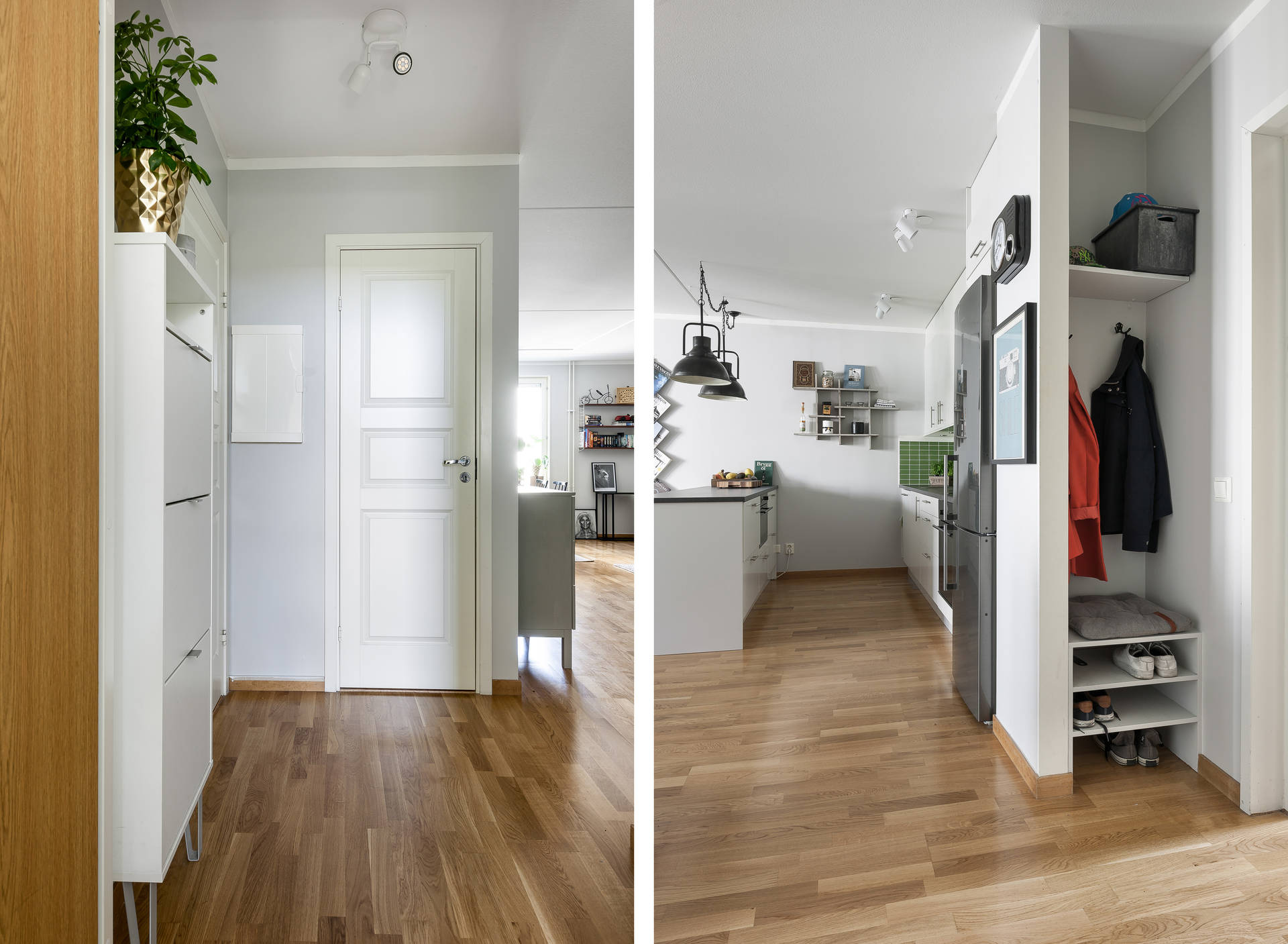 кухня прихожая входная дверь коридор