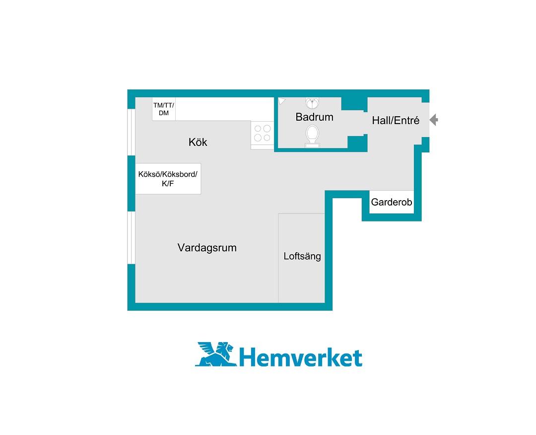 планировка двухуровневой квартиры студии