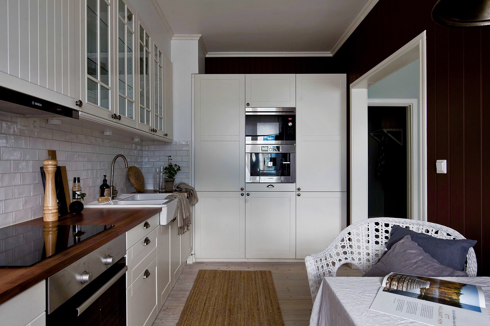 кухня шкаф встроенная техника