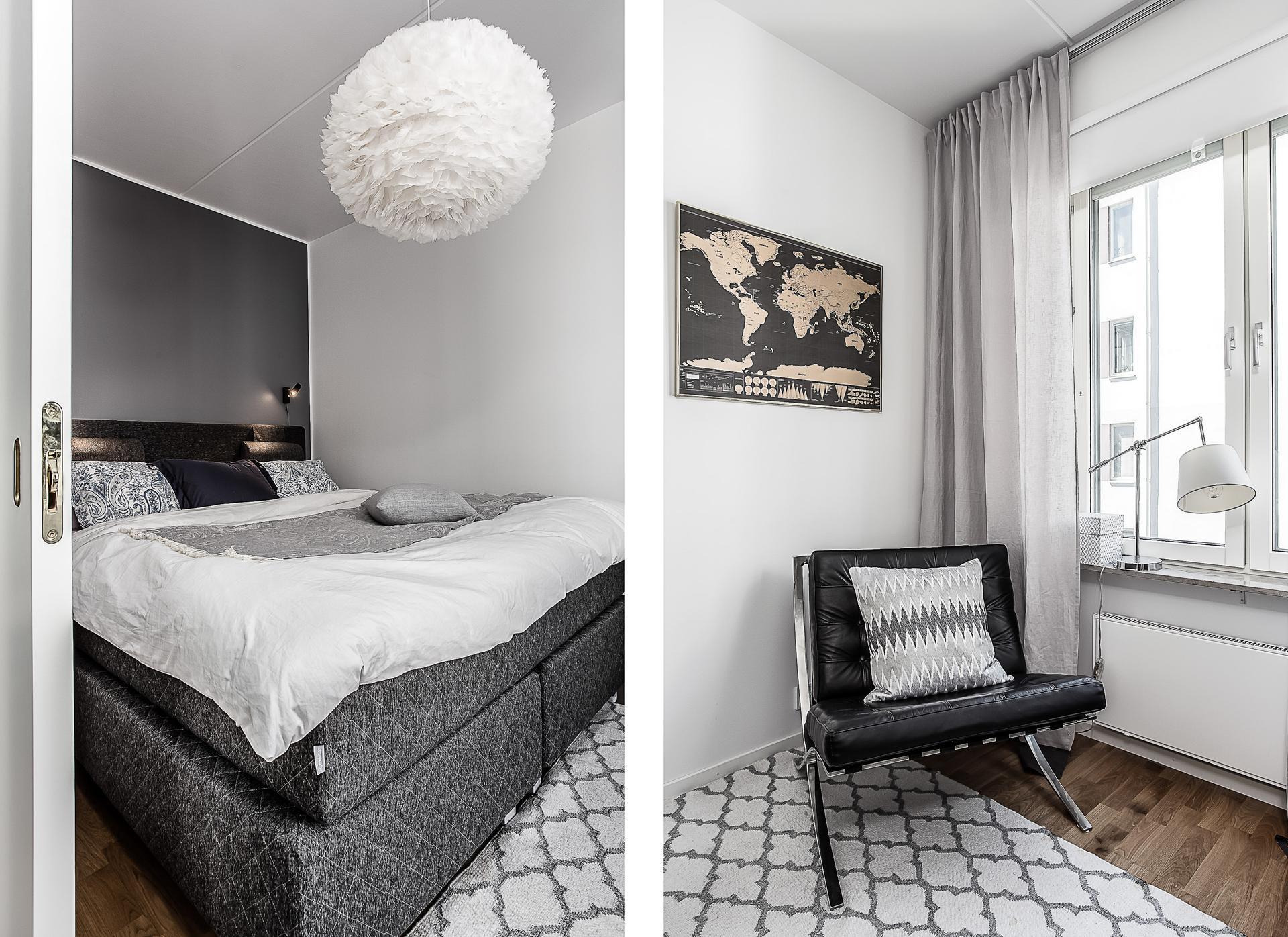 спальня кровать изголовье кресло карта