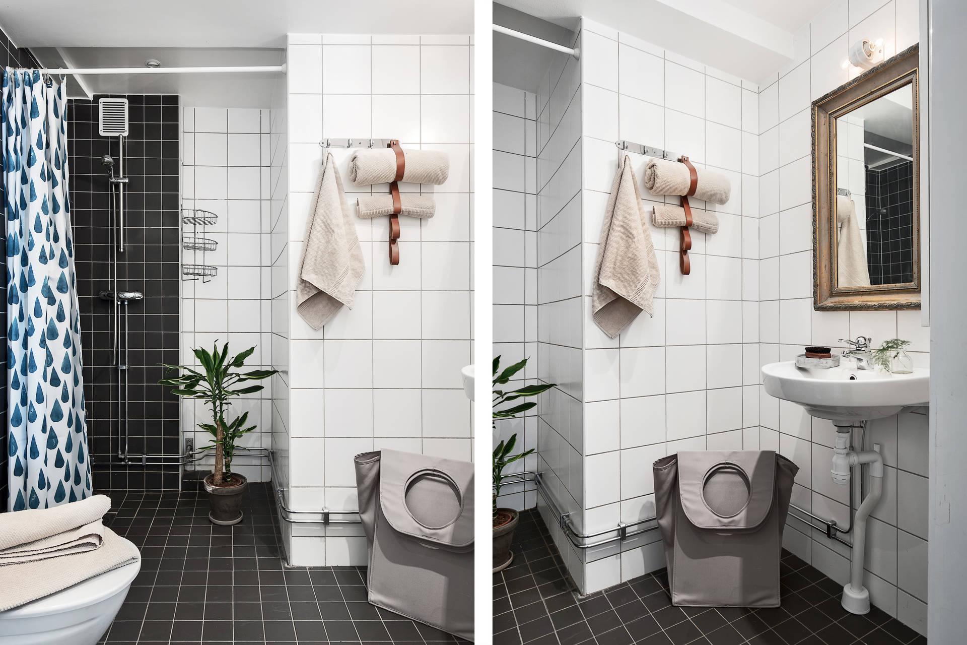 санузел душ раковина зеркало кран