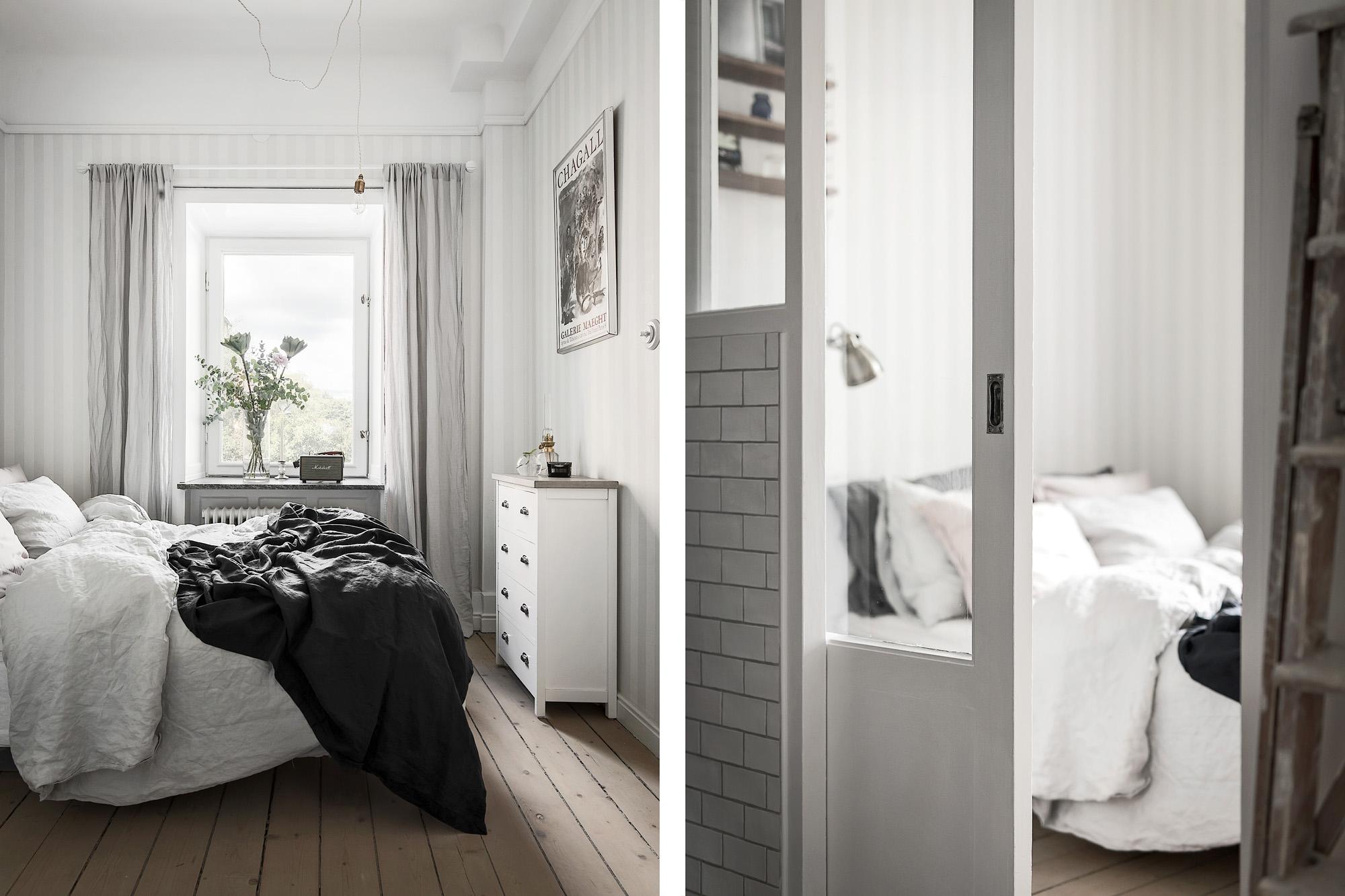 спальня кровать комод