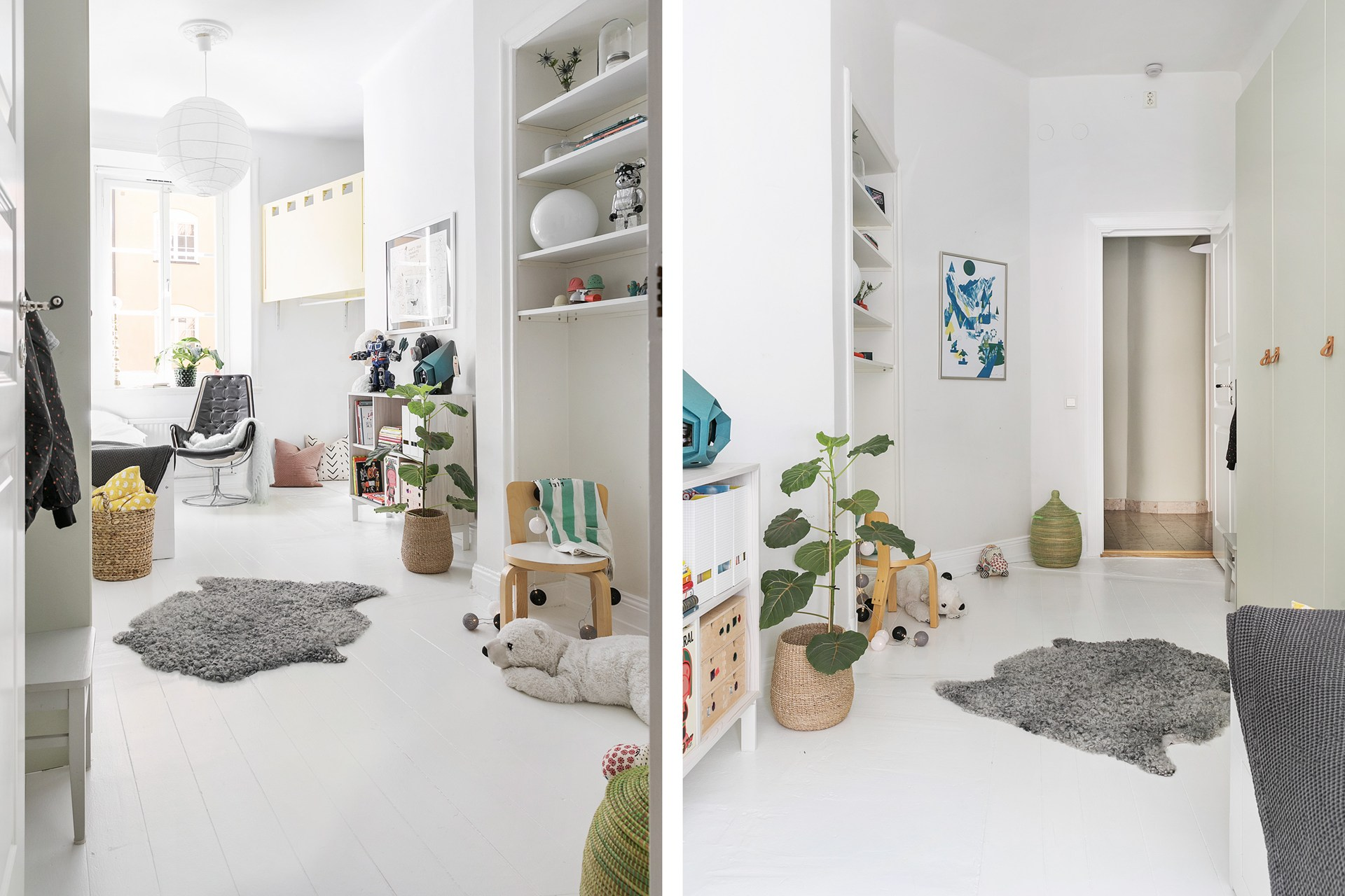 детская комната ниша